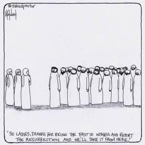 jesus and men and women